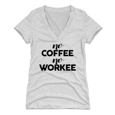 bf6fa1fae Funny Coffee Women's V-Neck T-Shirt | Coffee Lovers & Lifestyles Themed  Apparel - Bald Eagle Tees