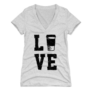 Coffee Lovers Women's V-Neck T-Shirt | 500 LEVEL