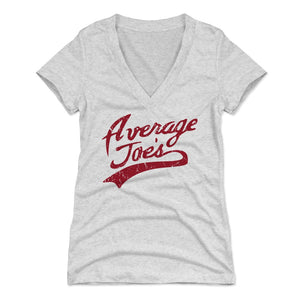 Average Joe's Women's V-Neck T-Shirt
