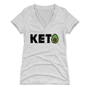 Avocado Women's V-Neck T-Shirt | 500 LEVEL
