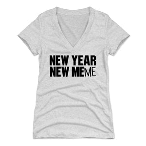 New Year's Day Women's V-Neck T-Shirt | 500 LEVEL