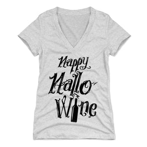 Halloween Drinking Women's V-Neck T-Shirt | 500 LEVEL