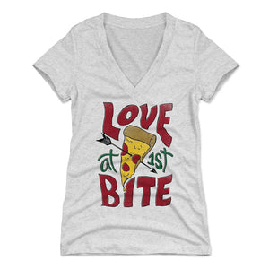Pizza Women's V-Neck T-Shirt | 500 LEVEL