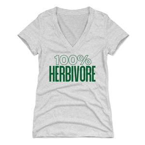 Healthy Eating Women's V-Neck T-Shirt | 500 LEVEL