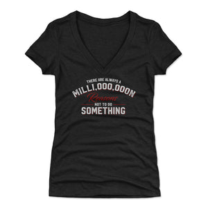 Motivational Women's V-Neck T-Shirt