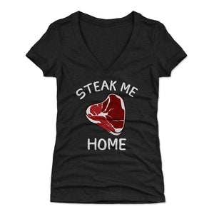 Steak Women's V-Neck T-Shirt