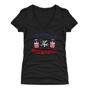 Funny 4th of July Women's V-Neck T-Shirt | 500 LEVEL