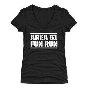 Funny Area 51 Women's V-Neck T-Shirt | 500 LEVEL