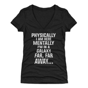 Funny Lazy Women's V-Neck T-Shirt | 500 LEVEL