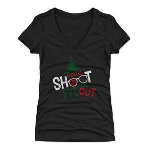 Christmas Story Women's V-Neck T-Shirt
