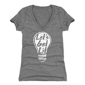 Drinking Women's V-Neck T-Shirt | 500 LEVEL