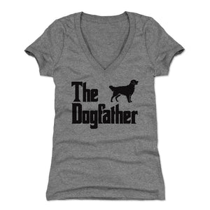 Dog Women's V-Neck T-Shirt | 500 LEVEL
