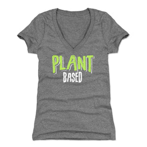 Vegetarian Women's V-Neck T-Shirt | 500 LEVEL