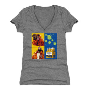 Coronavirus Women's V-Neck T-Shirt | 500 LEVEL
