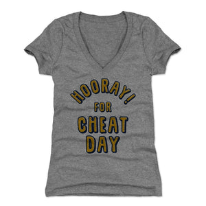 Cheat Day Women's V-Neck T-Shirt | 500 LEVEL