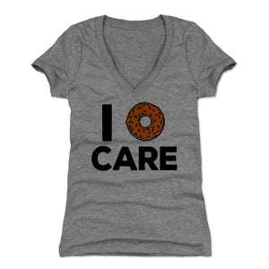 Donuts Women's V-Neck T-Shirt | 500 LEVEL
