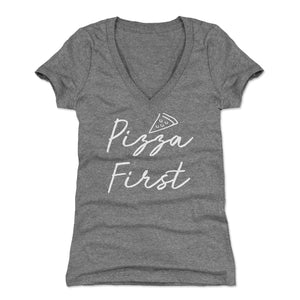 Pizza Women's V-Neck T-Shirt