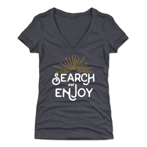 Adventure Lover Women's V-Neck T-Shirt | Bald Eagle Tees