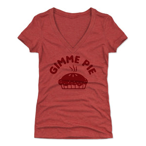 Pie Women's V-Neck T-Shirt | 500 LEVEL