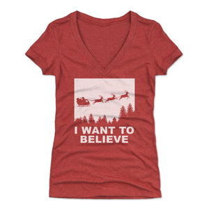 Christmas Women's V-Neck T-Shirt