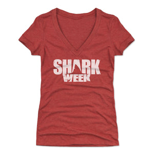 Shark Week Women's V-Neck T-Shirt