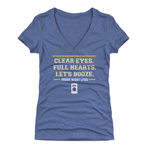 Friday Night Lights Women's V-Neck T-Shirt | 500 LEVEL