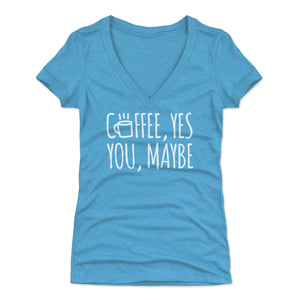 Cute Coffee Lovers Women's V-Neck T-Shirt