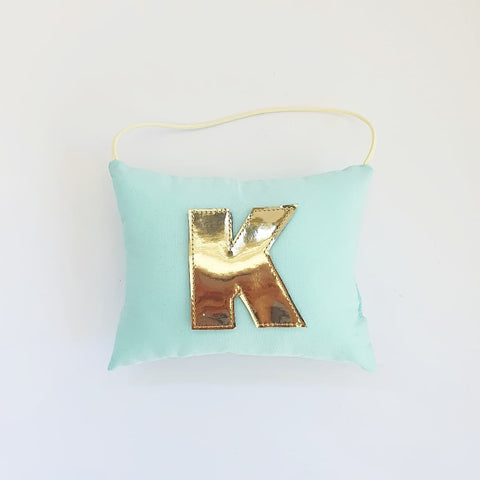 Initial Tooth Fairy Pouch© - Mint