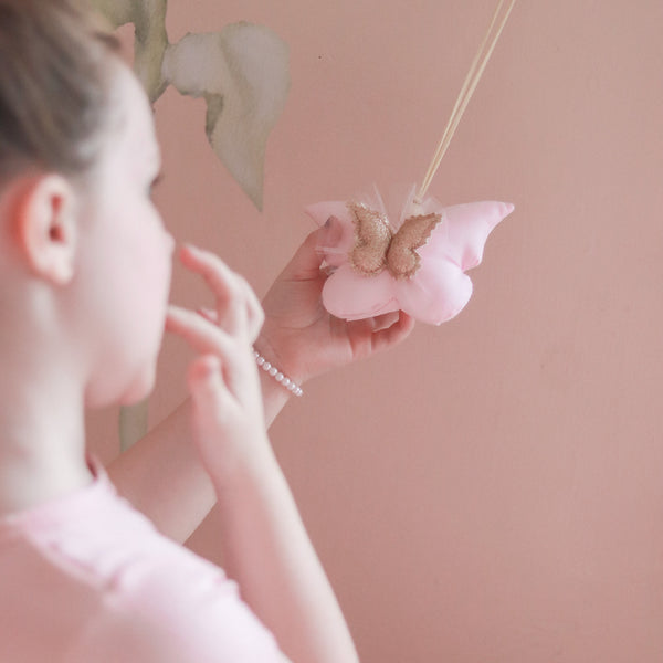 Tooth Fairy Flutter Pouch © - Baby Pink