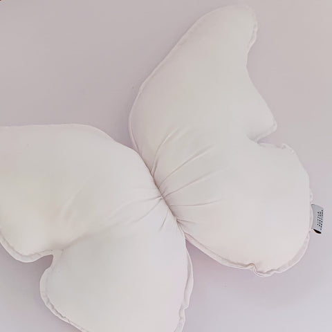 Butterfly Cushions © - White - Cotton - PRE ORDER