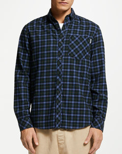 Carhartt Lanark Shirt - Check/Bottle Green