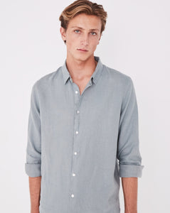Assembly Casual Long Sleeve Shirt - Mineral Green