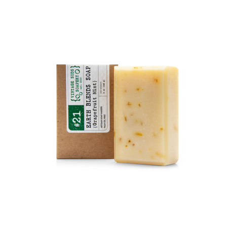 Grapefruit Mint Earth Blends Soap