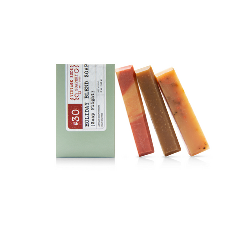 Holiday Blends Soap Flight