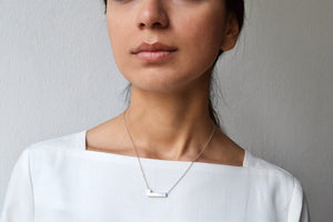 Turn necklace - Silver
