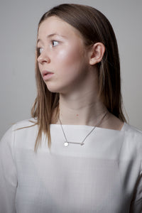 Flap necklace - Silver