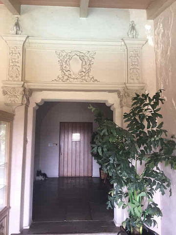 Arch Leading to The Front Door