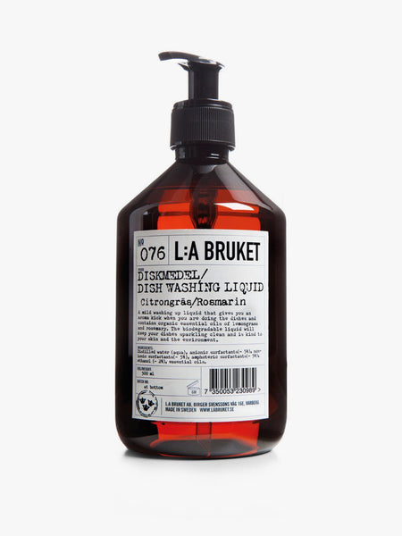 L:A BRUKET | 076 Dishwashing Liquid Lemongrass/Rosemary