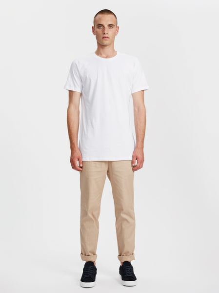 Harbour Crewneck T-Shirt | White