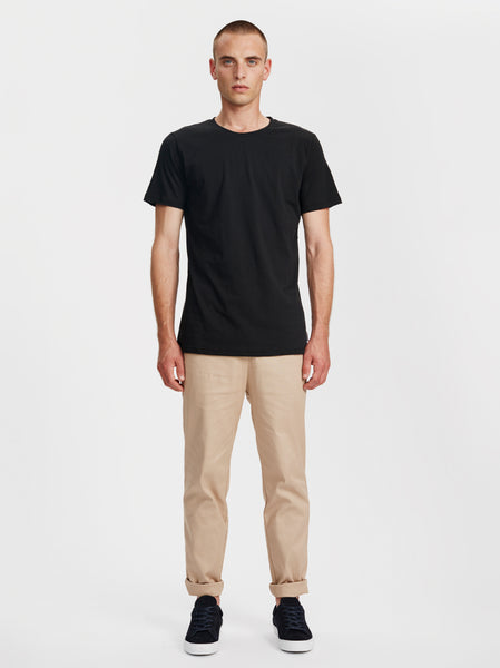 Harbour Crewneck T-Shirt | Black