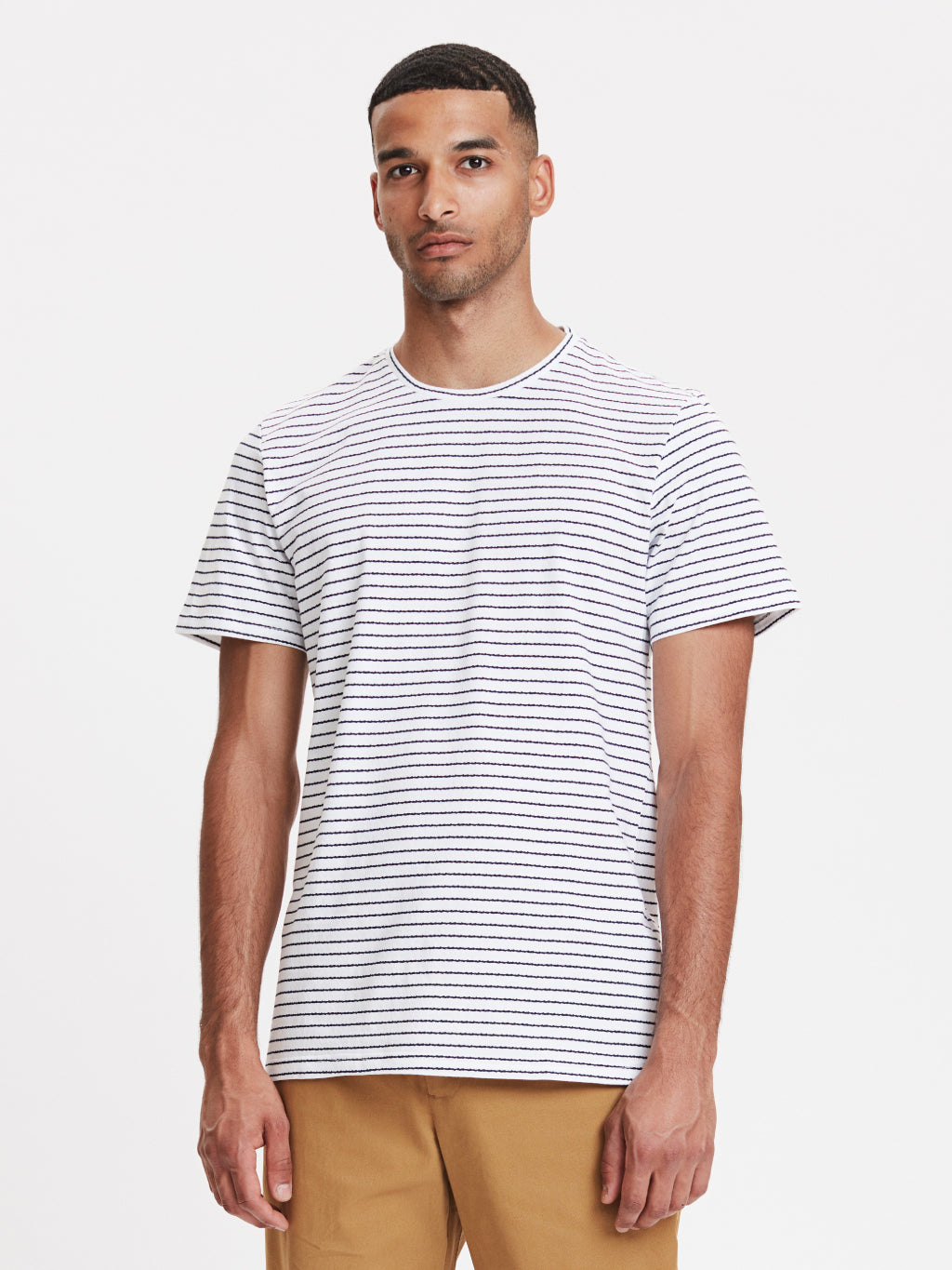 Fiji T-Shirt | White Striped
