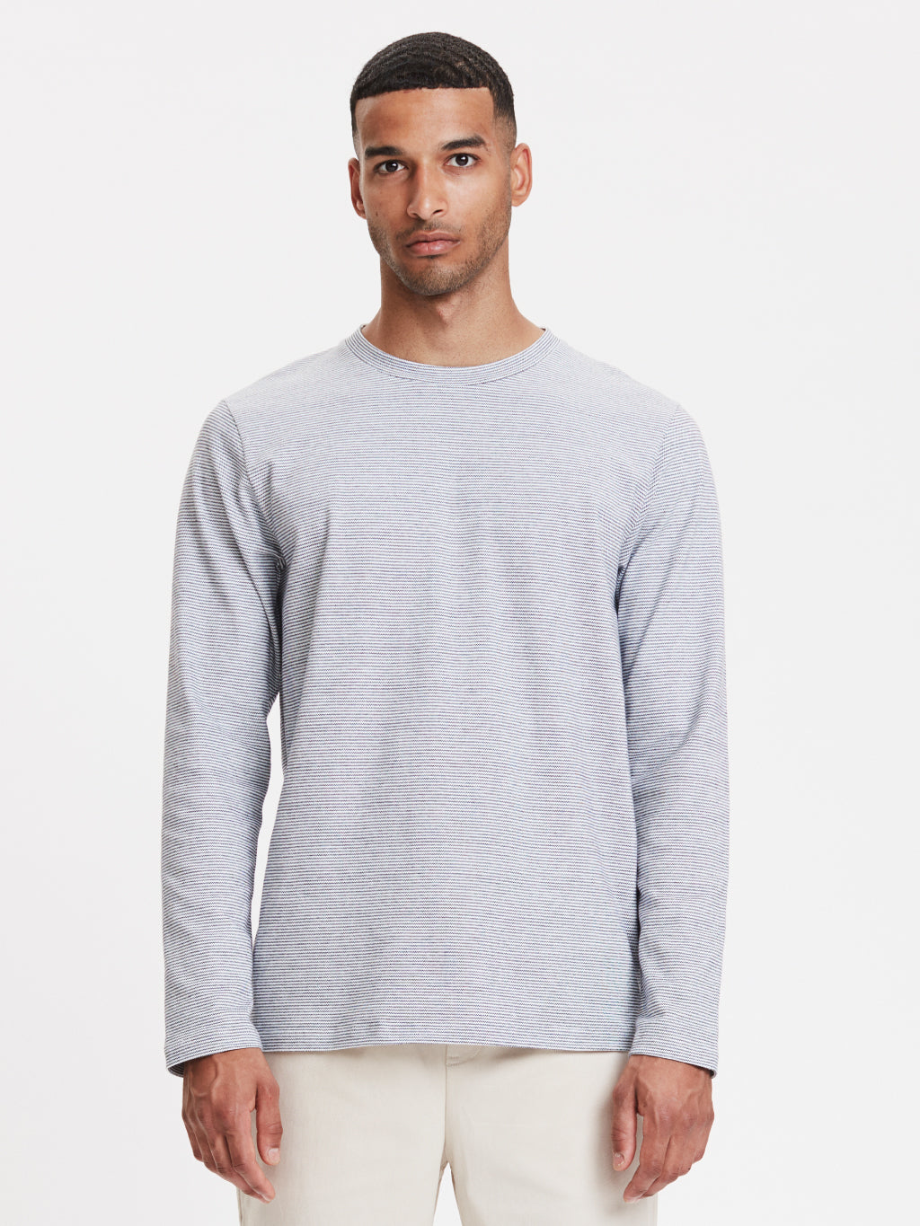 Toledo LS T-Shirt | White Striped