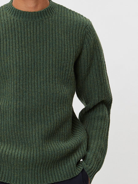Cartona Lambswool | Green Melange