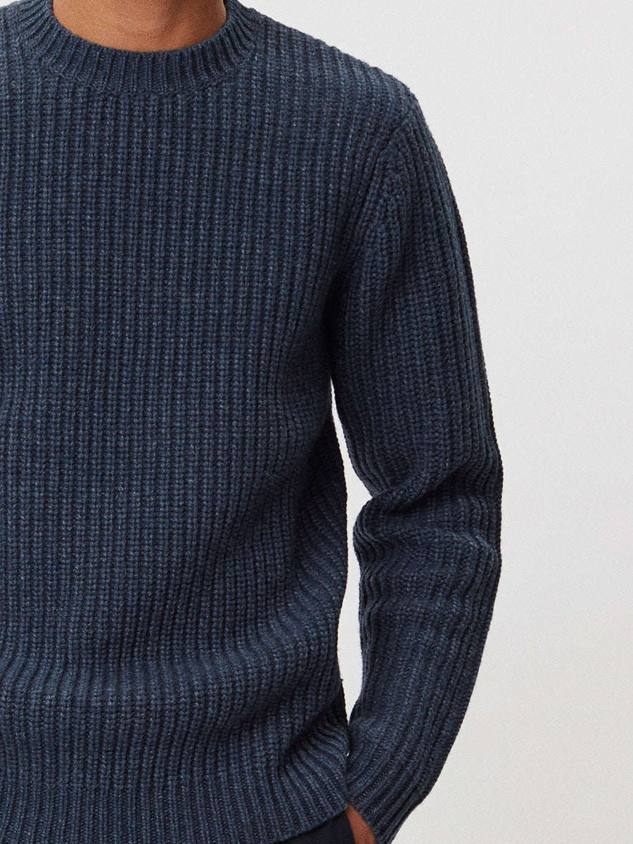 Cartona Lambswool | Navy Melange
