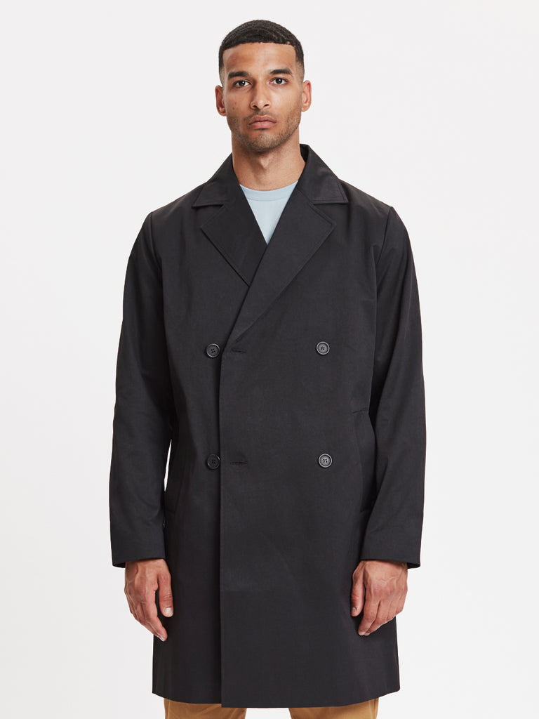 Frankie Double Brested Coat | Black