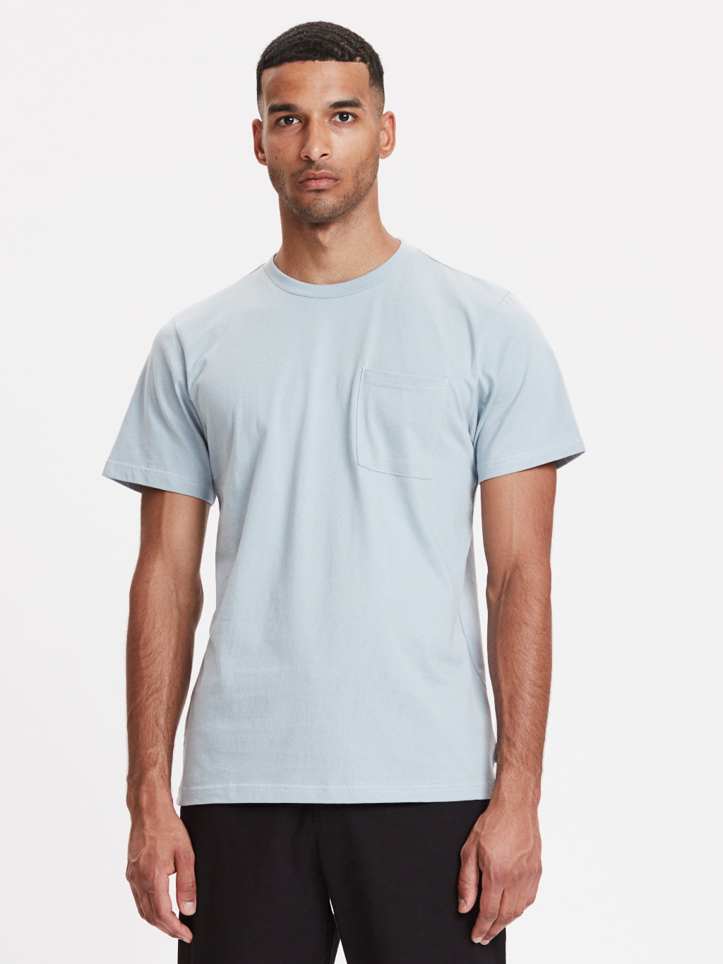 Faro Pocket T-Shirt | Dusty Blue