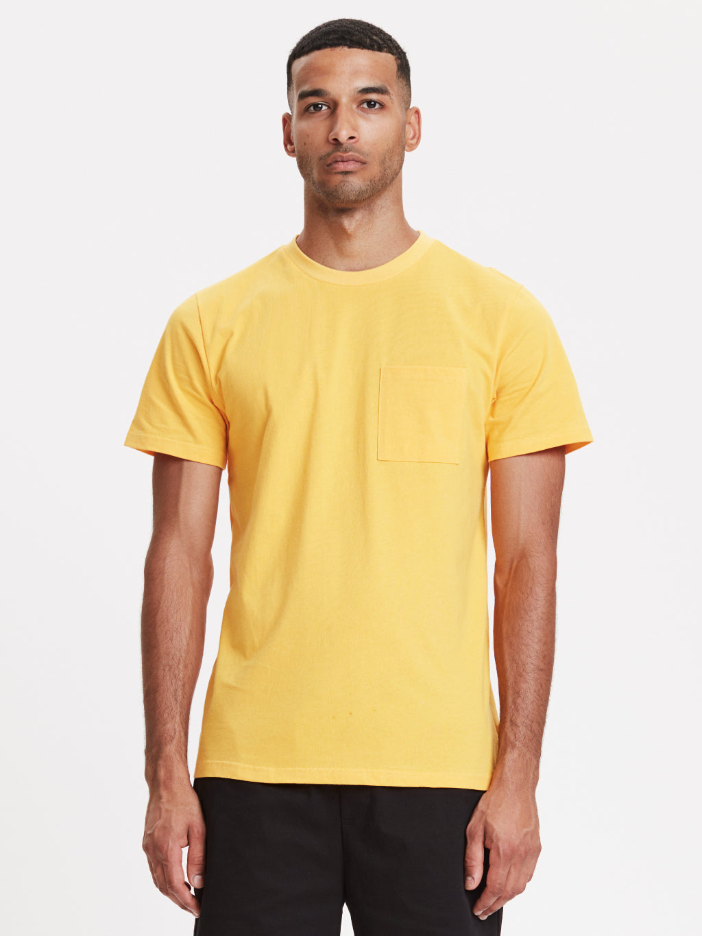 Faro Pocket T-Shirt | Sunflower Yellow