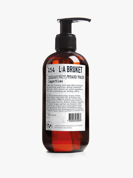 L:A BRUKET | 154 Beard Wash Laurel Leaf