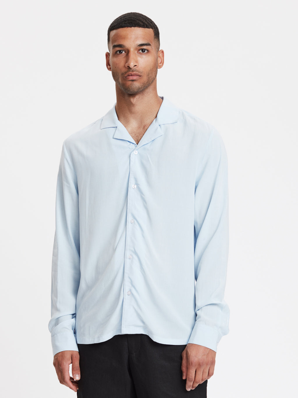 Pablo Shirt | Dusty Blue