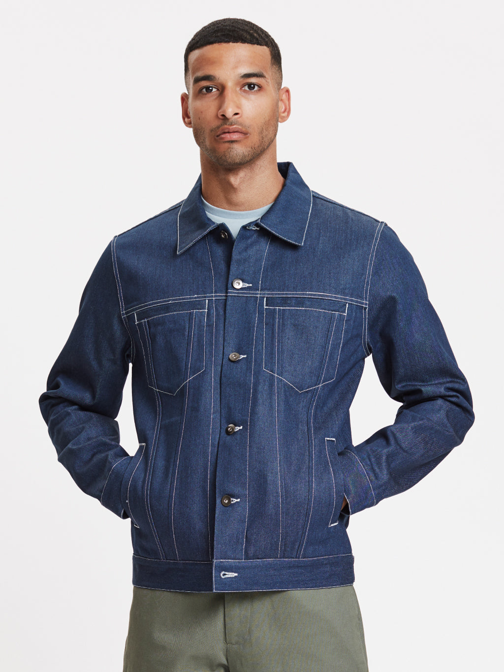 Ponta Denim Jacket | Indigo